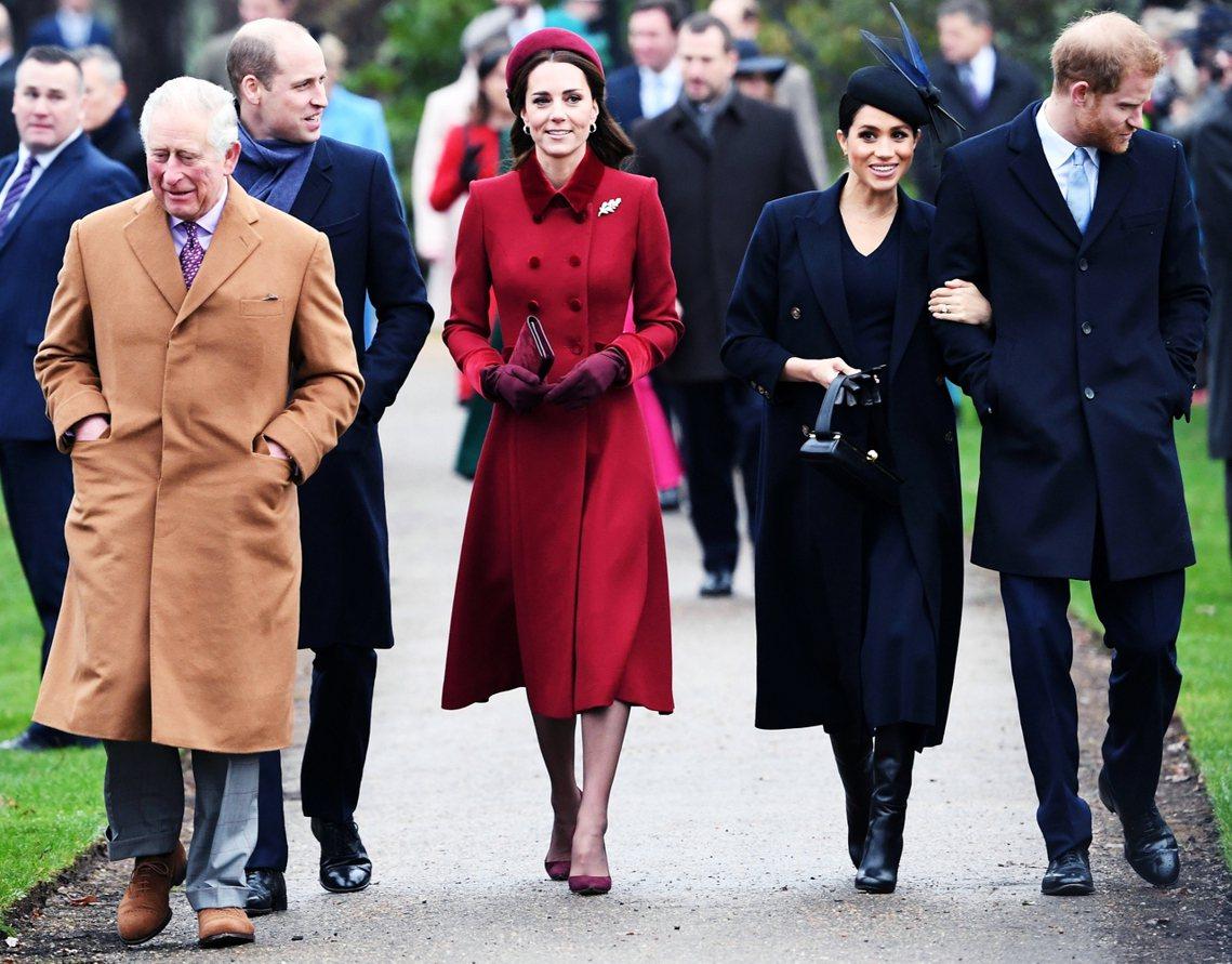 媒體爭議在哈利婚後變本加厲,英國的右翼小報不斷報導「梅根與兄嫂凱特的競爭心結」,...