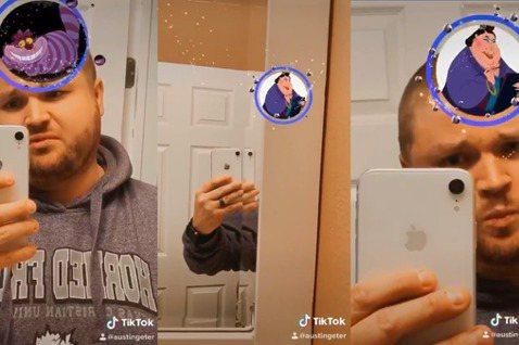 一名壯漢網紅Austin Miles Geter嘗試著近來很夯的IG限時動態特效,透過面對鏡頭數妙鐘的時間,頭上框框將會隨機跳出你是迪士尼的哪一個角色。Austin將他試用特效的短片分享到臉書,整個...