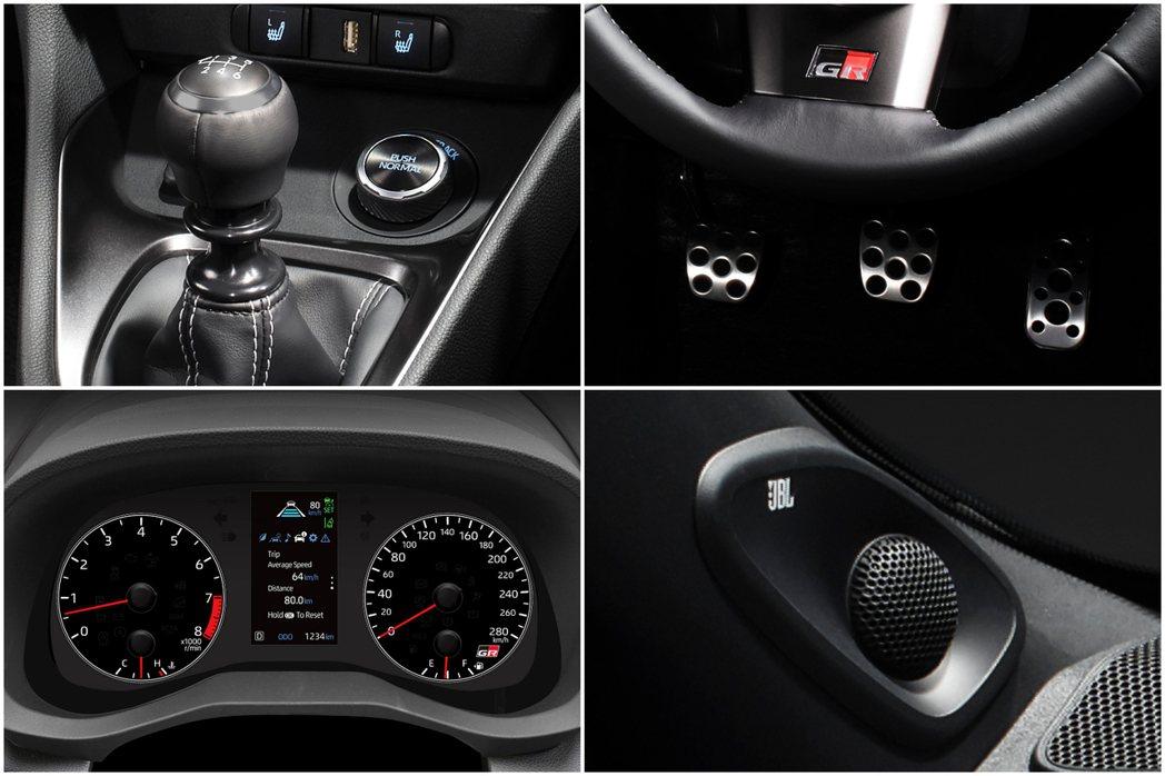 Toyota GR Yaris採六速iMT手排變速箱。 摘自Toyota