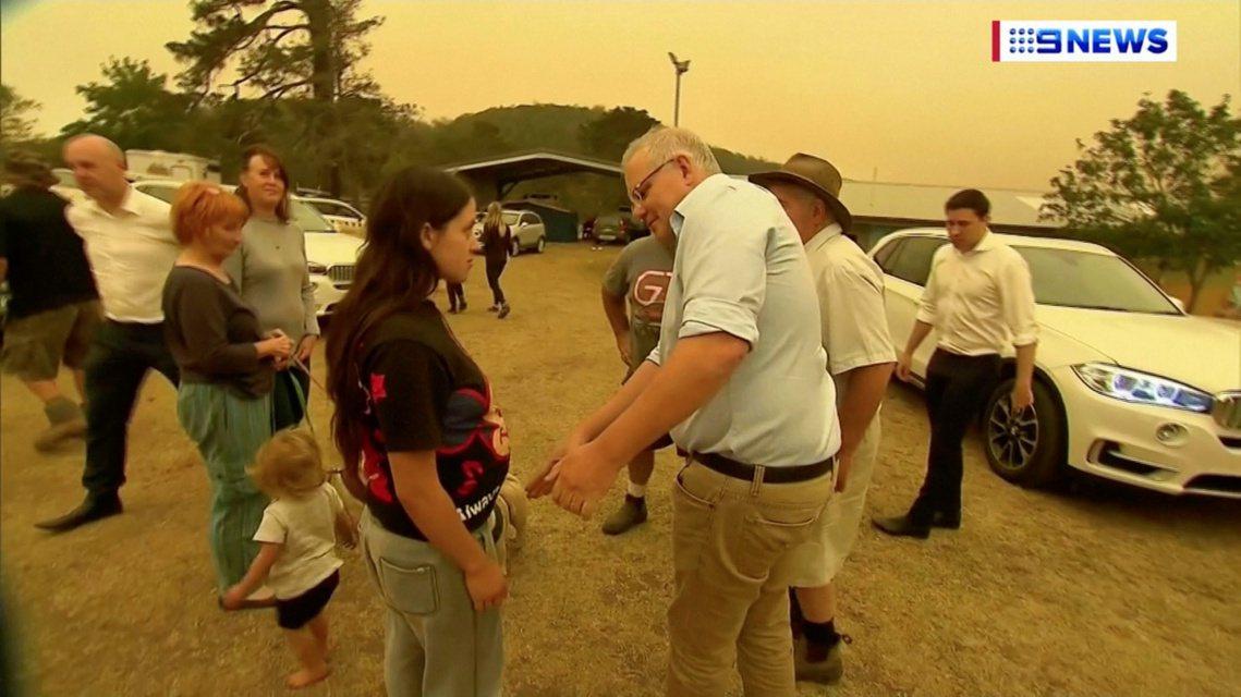 澳洲總理莫里森(Scott Morrison)在面對野火問題時緩不濟急的態度,早...