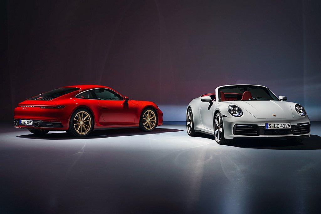 保時捷品牌標誌的911跑車,縱使大改款車型推出才約一年,但在美國市場只賣出9,2...