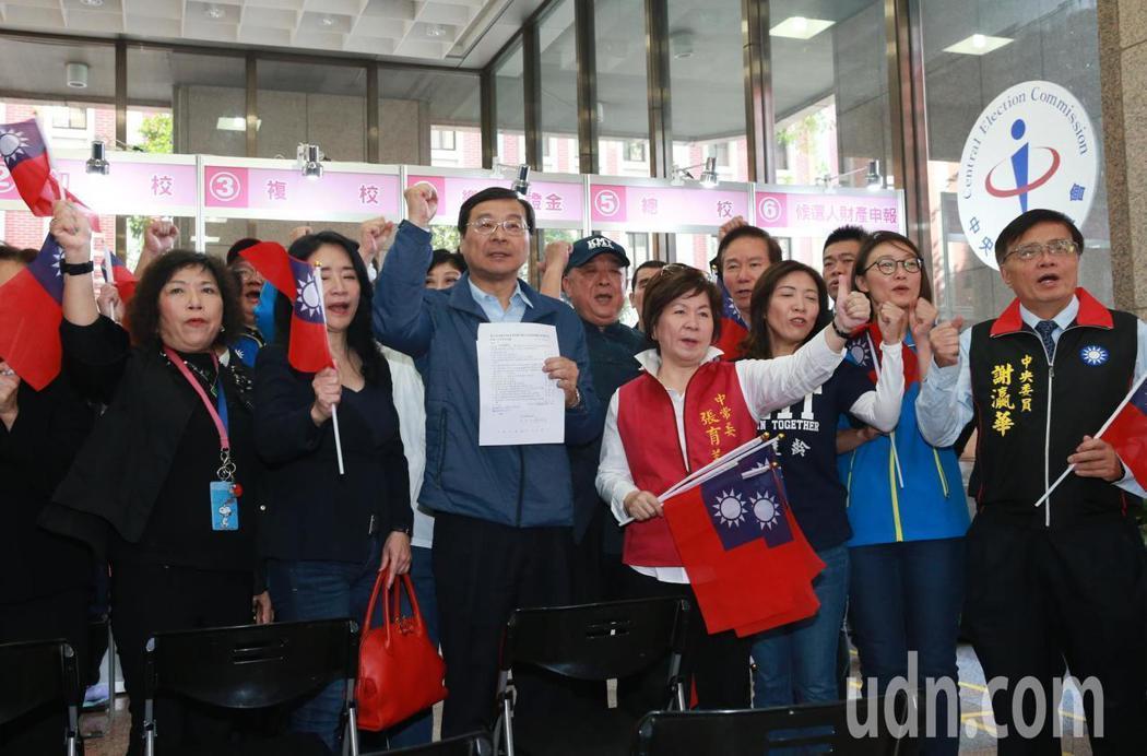 國民黨不分區立委提名人選。記者黃義書/攝影