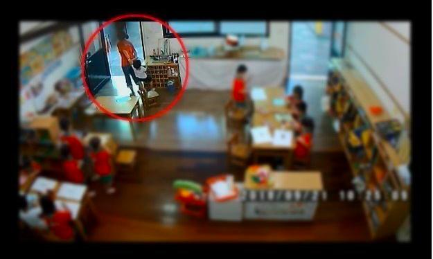 黃姓女教保人員走至男童旁將他拉出教室再帶入教室約20秒的關鍵畫面,台南地院認她成年人對兒童犯強制罪,處3月徒刑,並賠償男童7萬元,可上訴。圖/本報資料照