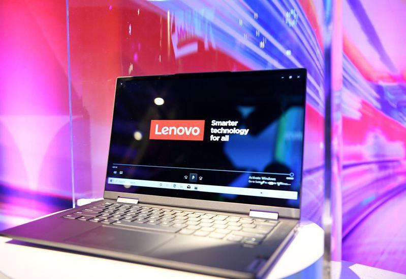 聯想推出ThinkPad X1 Fold,號稱「世界第一台可摺疊的PC」。 新華社