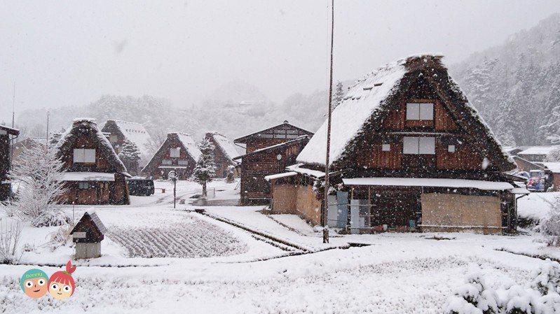 日本昨天因為防疫考量決定暫時封合掌村,讓不少觀光客敗興而歸。 圖/宏泰人壽提供