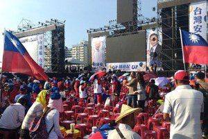 韓國瑜高雄選前之夜 位子昨晚就被占滿