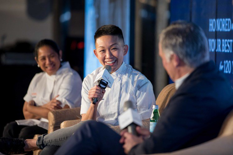 名廚分享成功心法,圖中為來自香港的周思薇May Chow。圖/聖沛黎洛提供