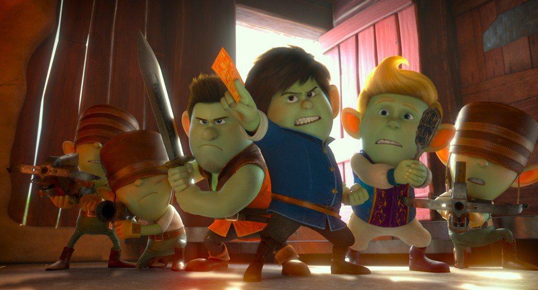 《紅鞋公主與七矮人》首度集結經典童話奇幻大改編。可樂電影提供