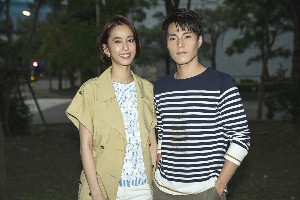 陳庭妮客串「天堂的微笑」,與唐振剛互動印象深刻。圖/TVBS提供