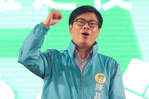 陳其邁:會用生命捍衛台灣,用生命建設高雄