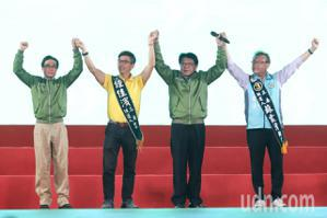 光復高雄選前之夜 潘孟安:台灣要贏 南台灣要先贏!