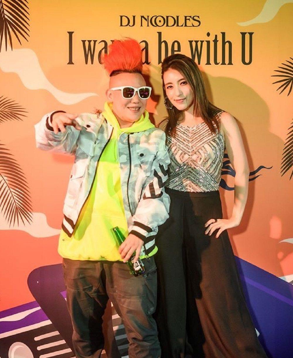 DJ Noodle(左)新歌邀來Lara梁心頤合作。圖/OMNI提供