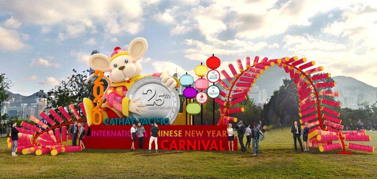 香港新春國際匯演在西九文化區舉辦。圖/港旅局提供