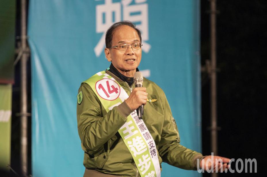 游錫堃。聯合報系資料照片/記者王敏旭攝影