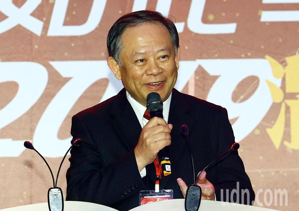 華南金控董事長張雲鵬。記者杜建重/攝影
