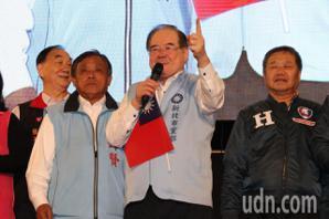 李乾龍、蔣根煌籲支持者拉票、催票、投票 下架民進黨