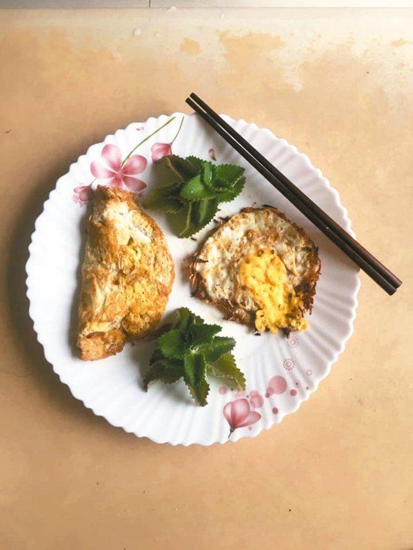 麻油荷包蛋。 圖/Inca Yao提供