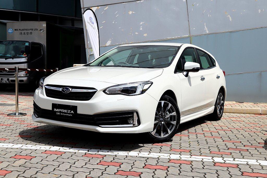 小改款Subaru Impreza無預警現身,台灣也將在今年底前導入。 記者張振...