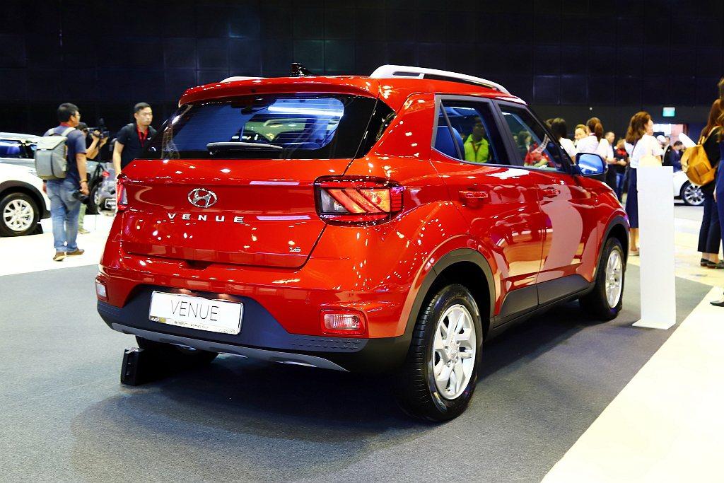 Hyundai Venue具備多種動力組合,但未來台灣採用何種動力目前仍未定。 ...