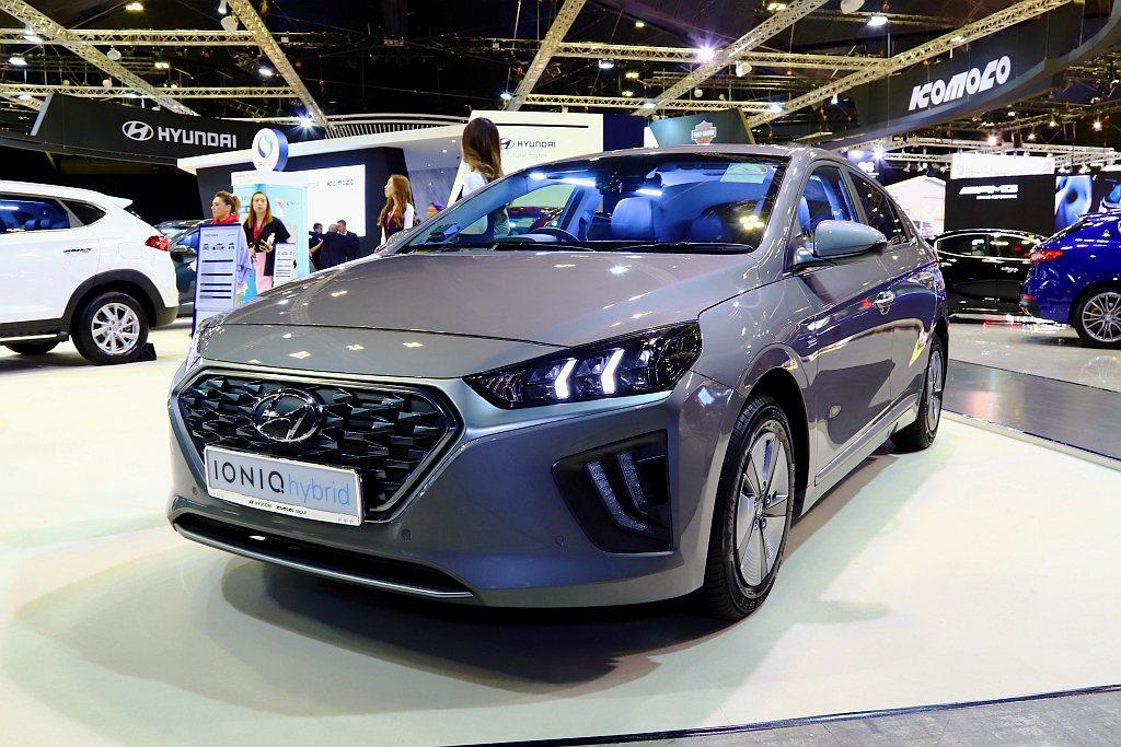 小改款Hyundai Ioniq Hybrid有望在今年導入台灣。 記者張振群/...