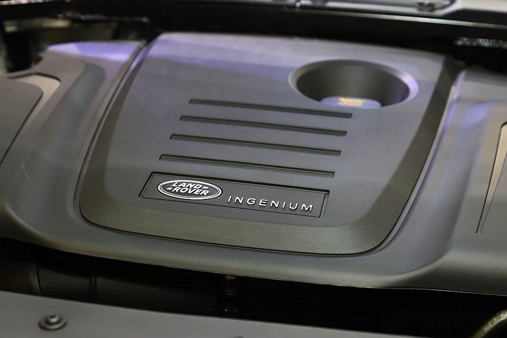 多元的汽、柴油動力架構,滿足Defender各種使用者的需求。 記者張振群/攝影