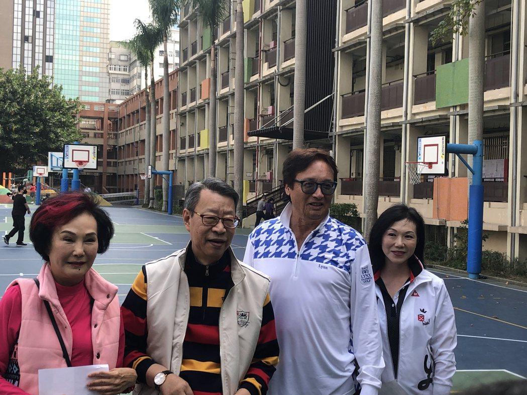 胡錦(左起)、顧安生、秦祥林以及曹昌莉。記者陳建嘉攝