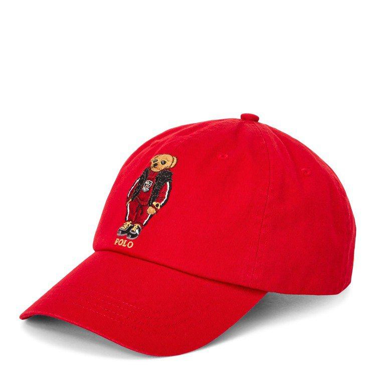 Ralph Lauren新春金鼠限定棒球帽,售價2,880元。圖/Ralph L...