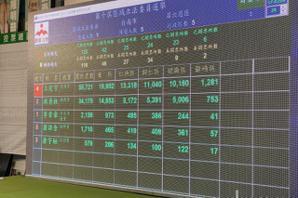 台南第六選區開票 王定宇持續領先洪秀柱兩萬多票