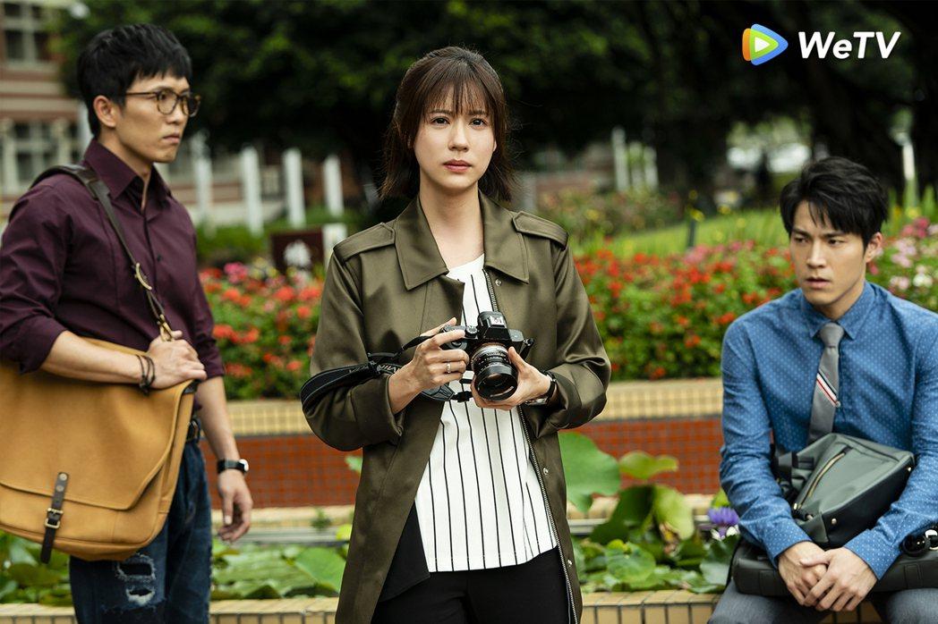 林予晞演出「天堂的微笑」後,關於「道別」有感性浪漫想法。圖/WeTV提供