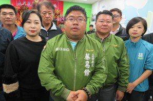 蔡易餘發表當選感言 感謝選民肯定再給他4年