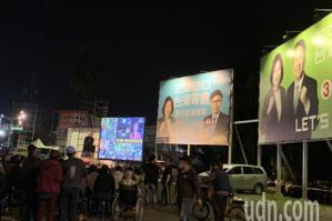 屏東立委選舉/民進黨兩席立委暫時領先 投票率粗估衝到74%