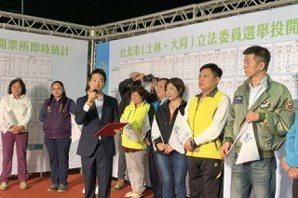 台北立委選舉/國民黨<u>孫大千</u>敗選感言 「辜負大家期望很抱歉」