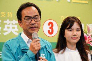 高雄立委選舉/李昆澤宣布當選 2度擊敗藍最高票議員黃柏霖
