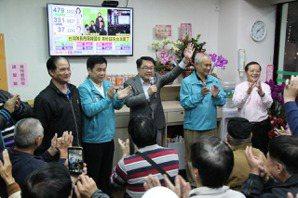 新北第四選區立委選舉 民進黨立委吳秉叡宣布自行當選