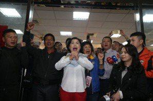 台中立委開票結果/險勝!<u>楊瓊瓔</u>自行宣布當選「感謝鄉親與我同行」