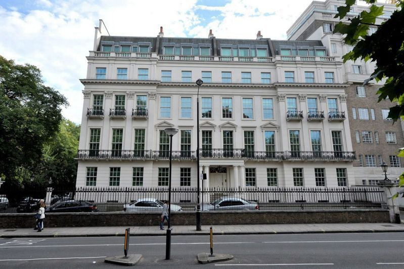 英國倫敦知名豪宅Rutland Gate,將有來自中國大陸的新主人。網路照片