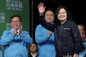 群眾高喊總統好 蔡英文:希望你們更好、台灣更好