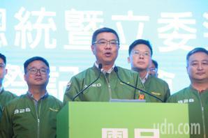 民進黨不分區得票較上屆少 卓榮泰:小黨林立吃了點虧