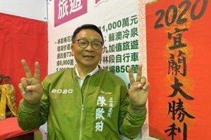 宜蘭立委/陳歐珀打建設牌成功三連霸 呂國華縮小藍綠差距