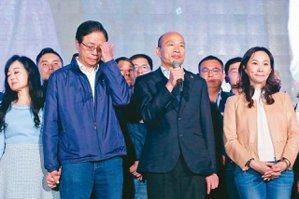 韓國瑜固守高雄 「選黨魁是假議題」
