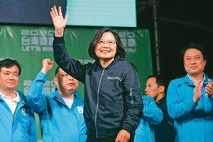 法媒:蔡總統連任 帶領台灣力抗中國集權威迫