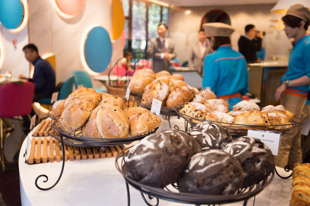 Picasso烘焙坊麵包以歐式口味為主。 攝影/張世雅