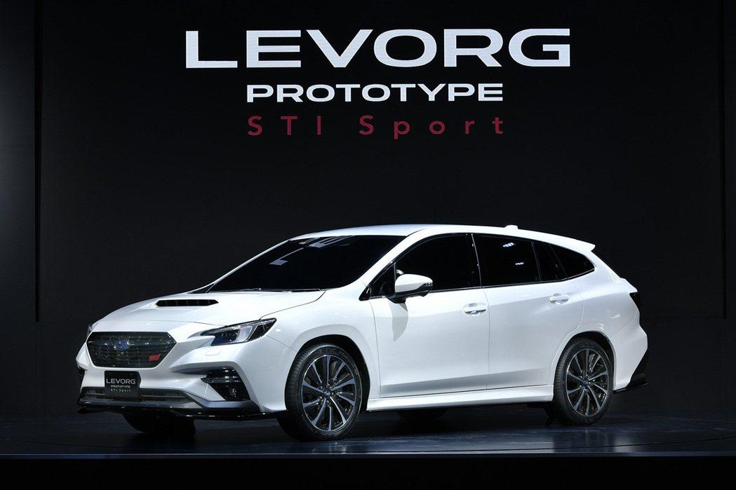 Subaru Levorg Prototype STI Sport於東京改裝車展...