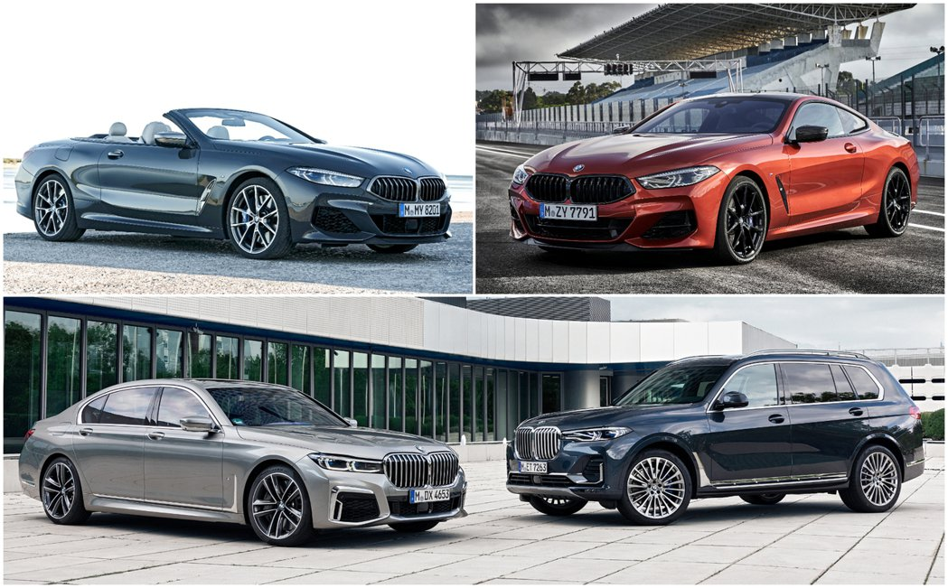 BMW Luxury Class豪華車系在去年也交出了張漂亮的成績單。 摘自BM...