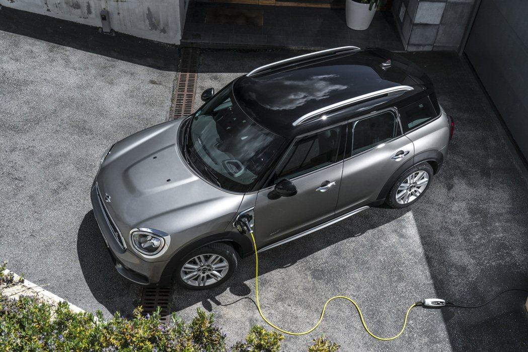 MINI品牌首款純電車MINI Cooper SE。 摘自BMW