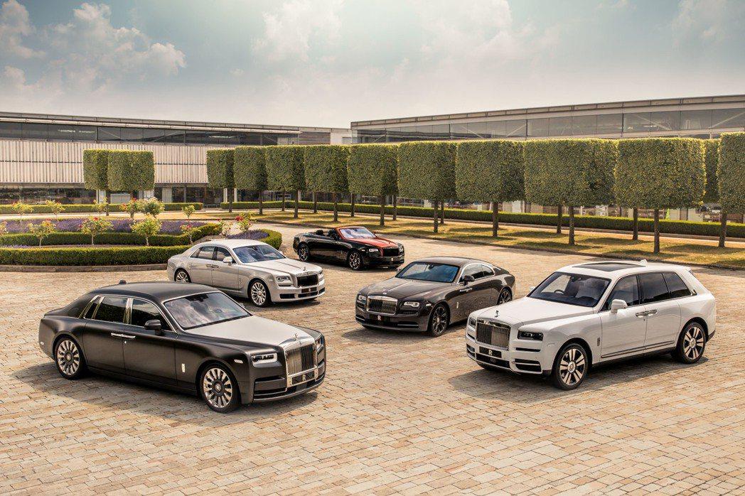 Rolls-Royce銷量達到了品牌創立116年來的新紀錄,2019年共交付了5...