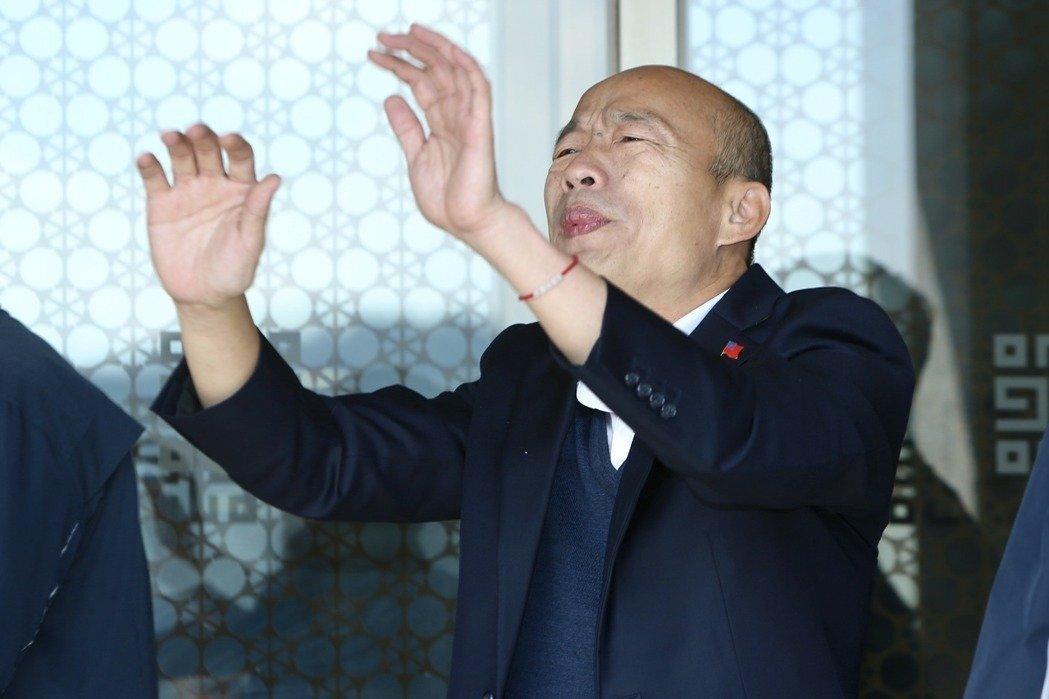 讓韓國瑜留在高雄巿長的位子上對台灣更有利
