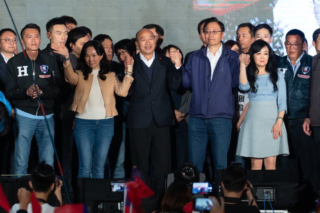 總統大選結果,韓國瑜大輸蔡英文,韓表示周一就返回高雄市府上班,高雄市藍綠議員各有...