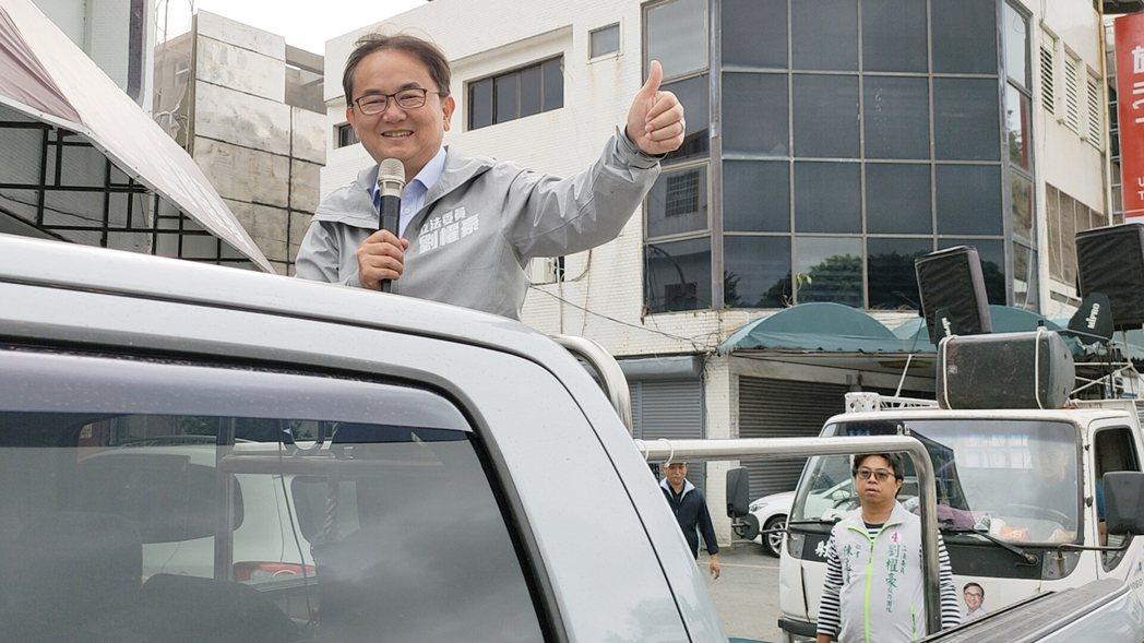 成功連任的民進黨籍台東區域立委劉櫂豪,今天上午9點啟動選後首日車隊掃街謝票行程。...