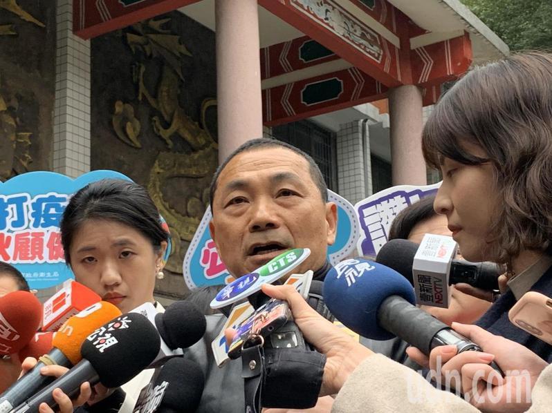 侯友宜今天上午出席市政行程,被問到國民黨選舉失利,他表示,選舉一定有輸有贏。記者張曼蘋/攝影